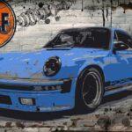 Porsche Stinger Blue