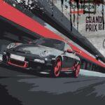 GT3 BR Circuit - Porsche 3D Bild