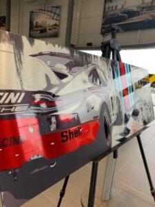 Für Kunden einer Porsche Garage in Frankreich